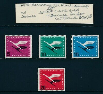 OWN PART OF GERMANY STAMP HISTORY 4 ISSUES  CAT VALUE  30-75 ALL STAMPS SHOWN