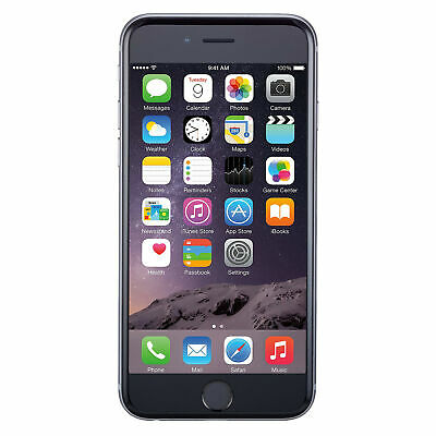 Apple iPhone 6 16GB GSM Unlocked for all GSM Carriers Phone Gray - Excellent