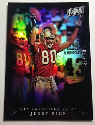 2018 Panini Black Friday Sports Legends Jerry Rice San Francisco 49ers 047199