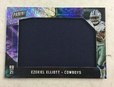 2018 Panini Black Friday Ezekiel Elliott 110 Jumbo Patch Card Cowboys