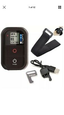 GoPro WiFi Remote Control - Key  - charging cable -wrist band