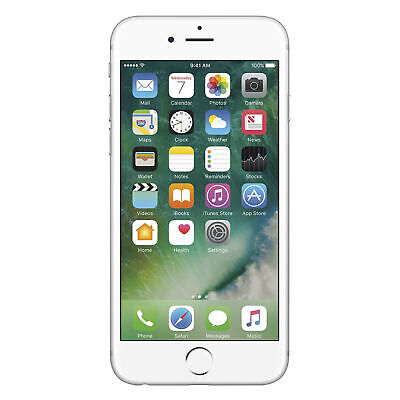 Apple iPhone 6S 16GB GSM Unlocked Silver - Excellent