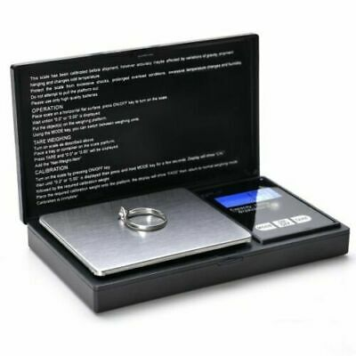Pocket 1000g x 0-1g Digital Jewelry Gold Coin Gram Balance Weight Precise Scale