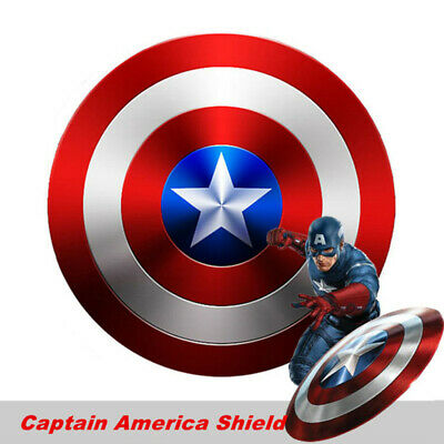 Captain America Metal Shield Avengers Wall Hanging Cosplay Party Halloween Gift