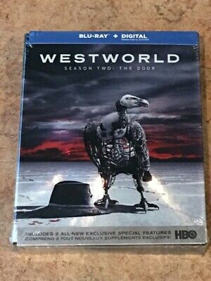 Westworld Season 2  The Door Canadian Blu-ray with USA Compatible Discs NEW