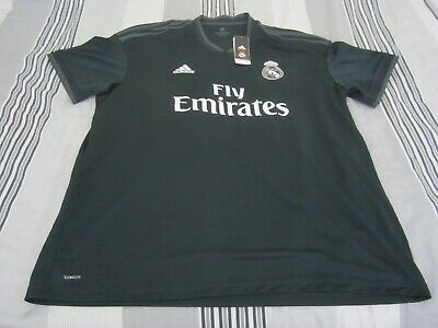 Authentic New Mens Real Madrid Adidas Soccer Jersey Football Shirt 2XL