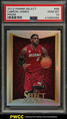 2012 Select Prizms LeBron James 66 PSA 10 GEM MINT PWCC