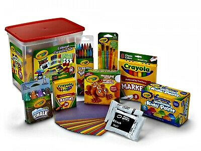 New Kids Colossal Creativity Tub Art And Craft Supplies Gift 90 Pieces