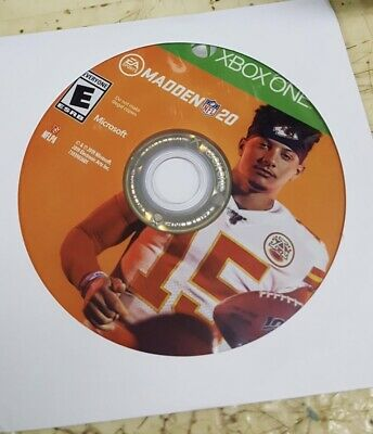 Madden NFL 20 Xbox One Game Disc Only