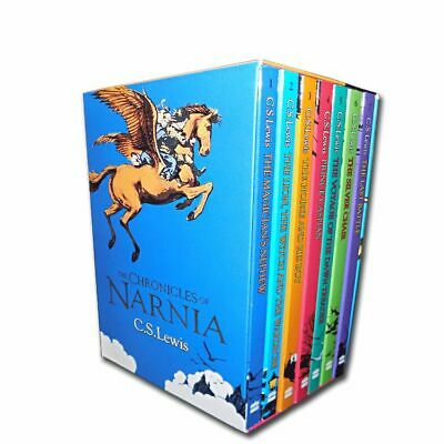 The Chronicles of Narnia Collection C-S- Lewis 7 Books Box Set Pack  C- S- Lewi