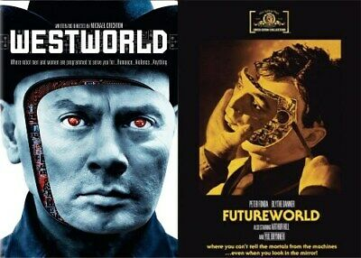 WESTWORLD - FUTUREWORLD New Sealed DVD Both Films