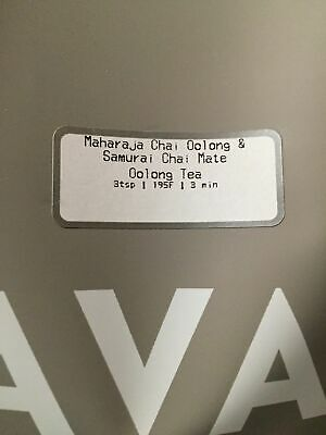 🌈🍊☕ NEW SEALED TEAVANA 2OZ MAHARAJA CHAI OOLONG SAMURAI CHAI MATE TEA 🌈🍊☕🌈