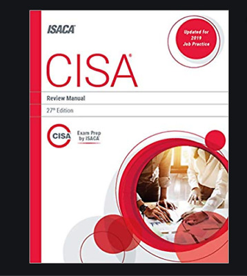 CISA Review Manual by ISACA 27 edition- 2019-P-D-F  P-D-F BY EMAIL