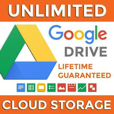 🚀 3x UNLIMITED GOOGLE DRIVE ON YOUR ACCOUNT LIFETIME - 🎁  3x DRIVES - 🎮