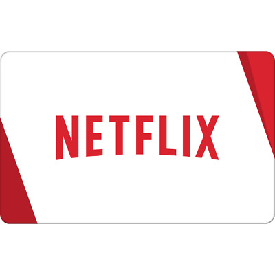 SELLING 15-100NETFLIX GIFT CARDS FOR 15 DELIVER WITHIN 5 HOURS