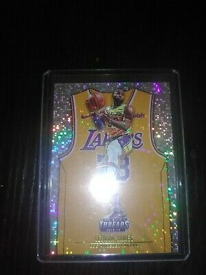 2018-19 Panini Threads LeBron James Dazzle Icon Jersey SP 175 Parallel