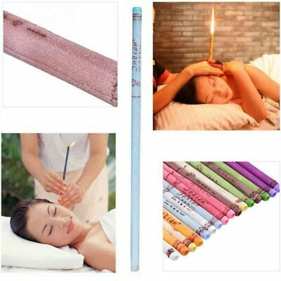 10 Ear Cleaner Wax Candles Earwax removal  ear  Cleaning candling kit beeswax