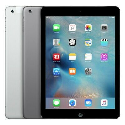 Apple iPad Air A1474 A1475 16GB 32GB 64GB 128GB AT-T Verizon Sprint WiFi Air 1st