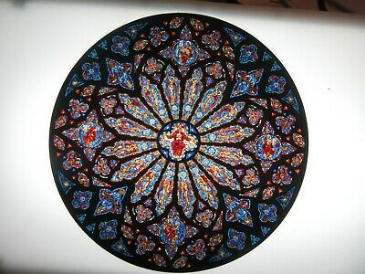 Glassmasters   Rose window of the Cathedral of St- John the Divine NYC 10  in-