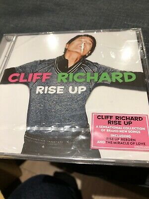 Cliff Richard - Rise Up - Cliff Richard New Sealed POP Eurovision