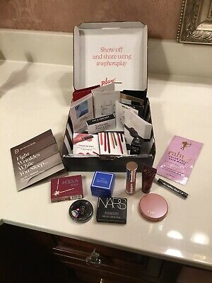 A Lot of 21 Trial Sizes Samples Sephora Makeup Cologne Beauty Treatments NEW