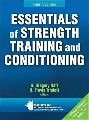 Essentials of Strength Training and Conditioning 4th Edition P-D-f