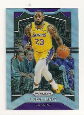 2019-20 Panini Prizm Lebron James SILVER prizm refractor parallel Lakers HOT