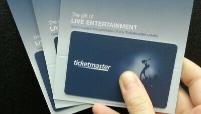Ticketmaster Gift Card 500 Value Quick Delivery With E-Mail - Printout