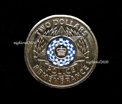 2019 2 Two Dollar Police Remembrance Day Coin