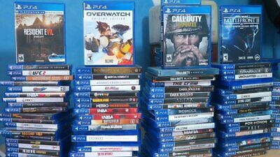 PS4 GAMES HUGE SELECTION - COLLECTION PRE-OWNED NICE CONDITION QUICK FREE SH