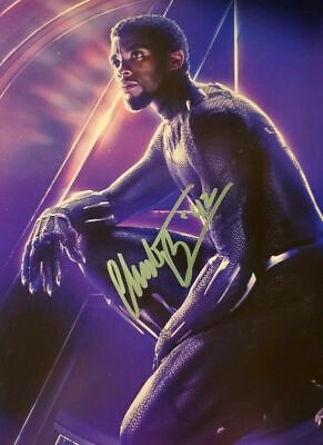 Chadwick Boseman Autographed Signed 8x10 Photo  Black Panther  REPRINT