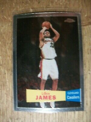 LEBRON JAMES 2007-08 Topps Chrome 57-58 Variations 23 Cavaliers