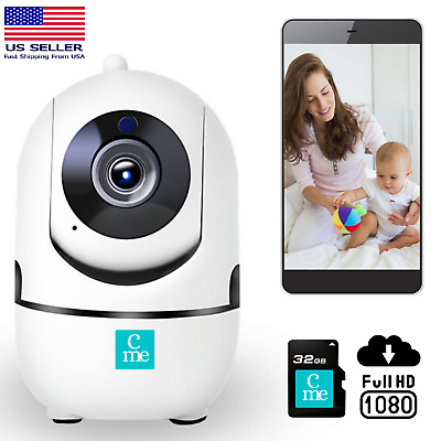 1080P Wireless Security Camera Indoor Home Smart Wifi System Monitor
