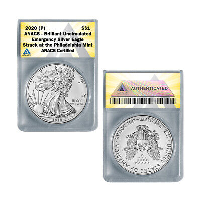 2020 P American Silver Eagle BU - Emergency ASE Production