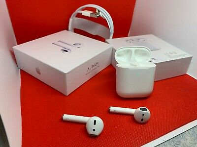 Apple AirPods 2nd Generation Headsets with Wireless Charging Case MRXJ2AMA
