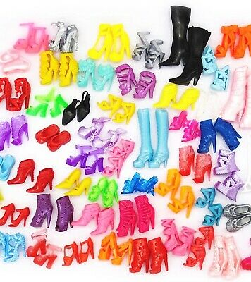 NEW Barbie Doll Shoes-Lot of 20 Pairs Asstd-SHIPS TODAY USA