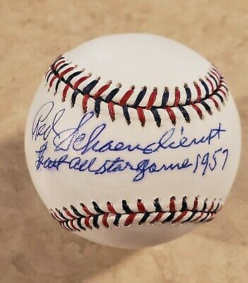 Red Schoendienst Last All-Star Game 1957 2009 All-Star Game Baseball