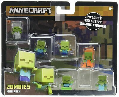 Mattel Minecraft Mini-Figure Mob Pack Styles May Vary Action Figure