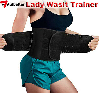 Sport Waist Trainer Weight Loss Sweat Thermo Wrap Body Shaper Sauna Belt Corset