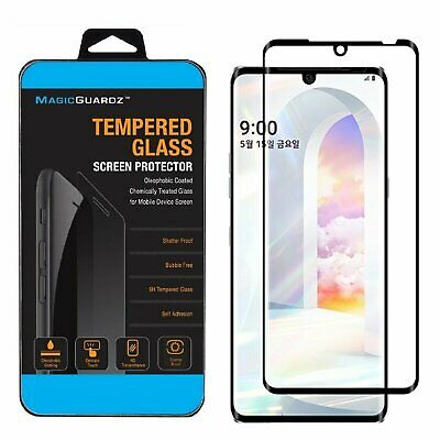 MagicGuardz®  3D Curved Tempered Glass Film Screen Protector For LG Velvet