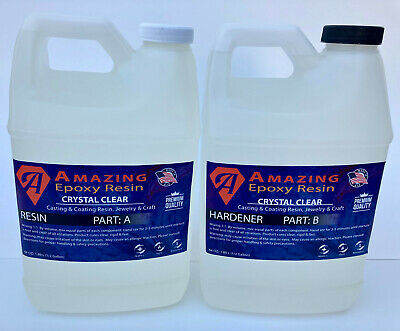 Crystal Clear Epoxy Resin Bar - Table Top CraftsCoatingCasting  1 Gallon Kit
