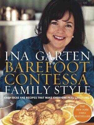 Barefoot Contessa Family Style by Ina Garten Hardback Book The Fast Free