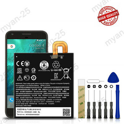 For Google Pixel 1St Generation Replacement Battery B2PW4100 Tools