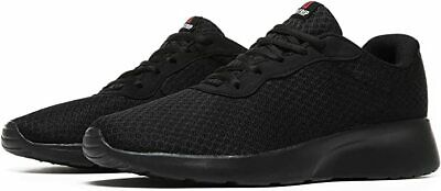 2 Pair MAlITRIP Mens Ultra Lightweight Breathable Walking Shoes Black