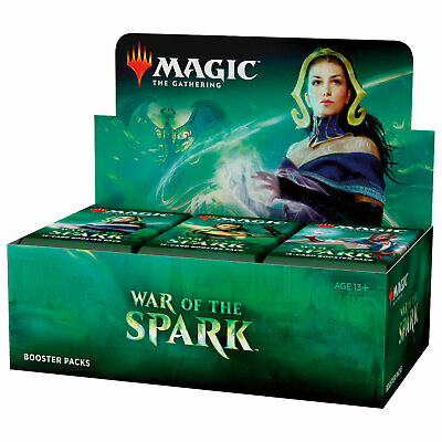 Magic MTG War of the Spark Booster Box English Factory Sealed NEW