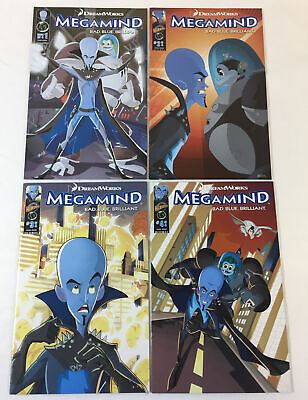 DreamWorks movie comics MEGAMIND 1 2 3 4  FULL SET