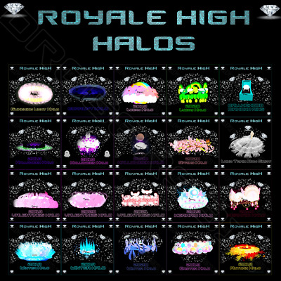 ROBLOX ROYALE HIGH DIAMONDS - HALOS - ACCESSORIES - CHEAPEST PRICES