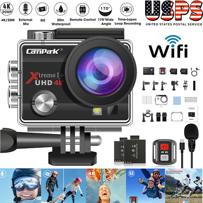 Ultra 4K Action Camcorder HD 1080P Waterproof Sport Camera as Go Pro