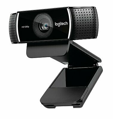 Logitech 1080p HD Pro Stream Webcam 30fps for work from home streaming