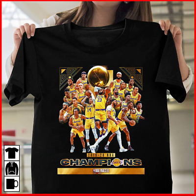 Los Angeles Lakers 2020 NBA Finals Champions T-Shirt